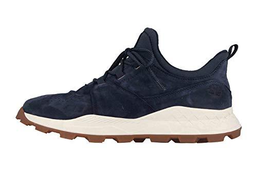Timberland Brooklyn Oxford Sneaker in Übergrößen Blau TB0A1YVP019 große Herrenschuhe, Größe:49