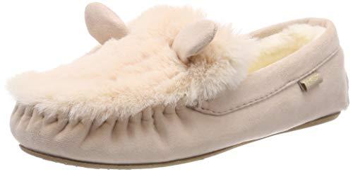 flip*flop Damen loafermouse Pantoffeln, Beige (Powder 2040), 42 EU