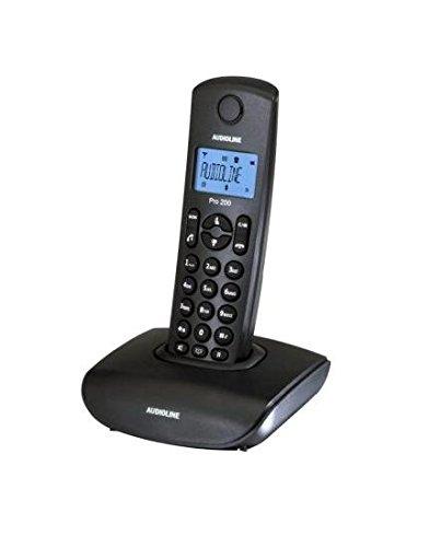 Audioline Pro 200 DECT Schnurlostelefon mit Anruferkennung