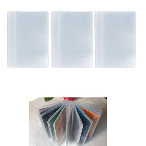 Descripción: 100% nuevo y de alta calidad Diseñado para el dinero, las tarjetas de visita, las tarjetas de crédito, las tarjetas de identidad y todas otras tarjetas. Protege sus tarjetas con un diseño elegante, limpio y intacto, y hace su vida profes...