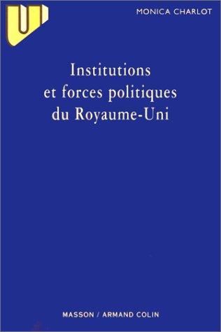 Institutions et forces politiques du Royaume-Uni