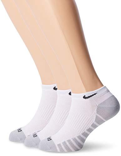 Nike U NK Dry LTWT NS 3PR Herren Socken, Weiß  (white/wolf grey/black), Gr. 46-50