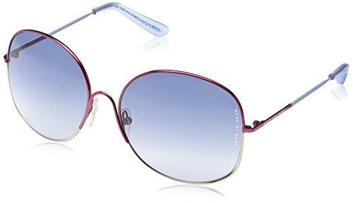 Marc Jacobs Damen MMJ 194/S Aviator Sonnenbrille, Grey White Frame/Gradient Grey,