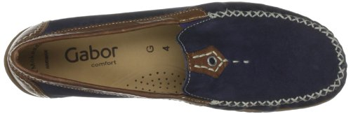 Gabor Shoes Comfort 46090 Damen Halbschuhe Blau (navy/copper)