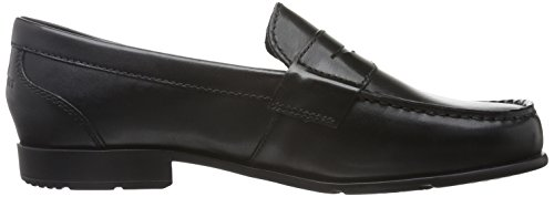 Rockport Classic Loafer Lite Penny, Mocassini Uomo Nero (Black Ii)