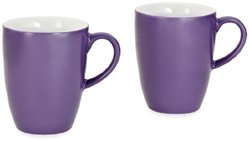 Kahla 57C136A72820C Kaffeebecher-Set 2-teilig Pronto, lila