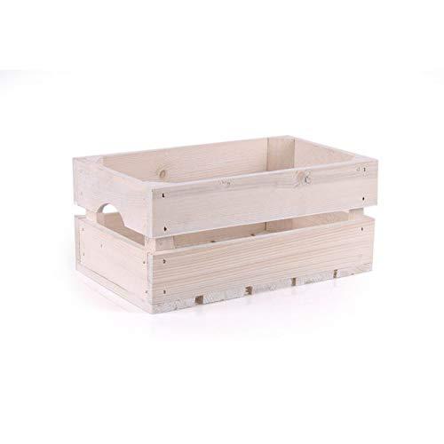 TINTOURS Boîte en Bois pour Herbes et Fleurs pour Jardin/Jardin/Jardin/Jardin/Jardin/bac à légumes Blanc 34 x 20 x 15,5 cm