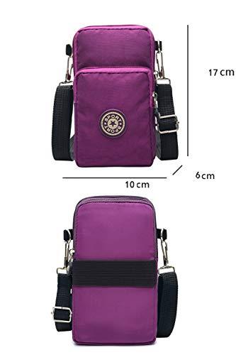 Zoom IMG-1 borsa porta cellulare tracolla nylon