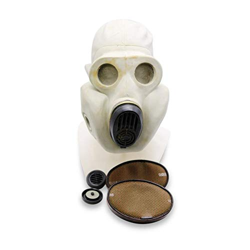 Geschichte Taschen Kostüm Komplette - OldShop Gasmaske PBF Set - Sowjetische Militär Gasmaske Replica Sammlerstück Set W/ Maske, Tasche, Filter - authentischer Look & Verschiedene Größen erhältlich