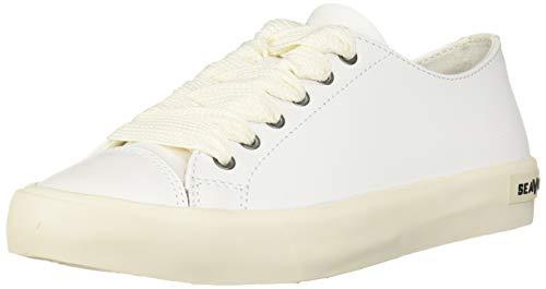 SEAVEES Damen Crosby Sneaker Turnschuh, weiß, 42 EU