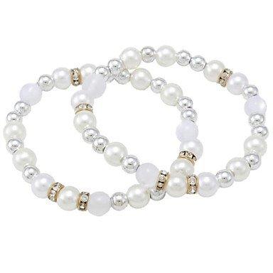 Women'sFashion Exquisite Pearl Bracelets(Random Color)