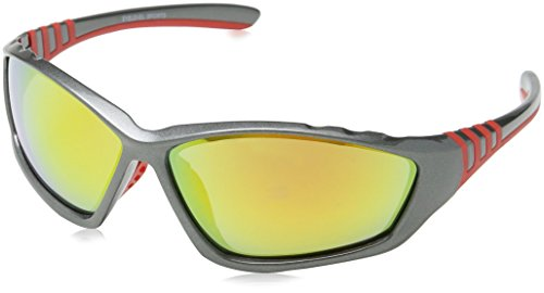 Eyelevel occhiali da sole da uomo Armour Black (Black/Red) Taglia unica N6vd8