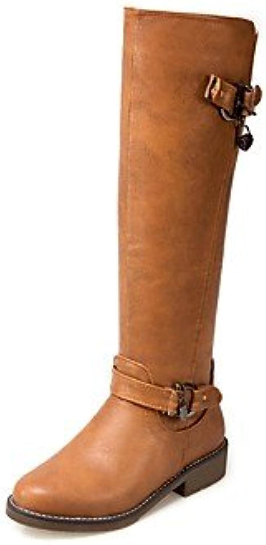 Desy Otoño Invierno De Piel Sintética Botas de zapatos las mujeres Confort gasa Casual Partido y vestido de noche... -