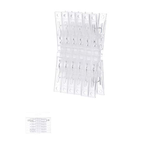 Miniso Simple Clothespin 12 Pack