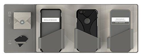 iPhone 6 Hülle, (Schwarz/Rot) X-Case SaharaCase Schutz Kit Paket mit Null Schaden [ZeroDamage gehärtetes Glas Bildschirmschutz] Robuster Schutz Anti-Rutsch-Griffigkeit [Stoß sicherer Puffer] Schlanke  Schwarz