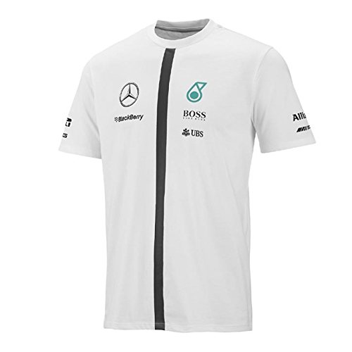 mercedes-t-shirt-da-uomo-uomo-t-shirt-bianco-l