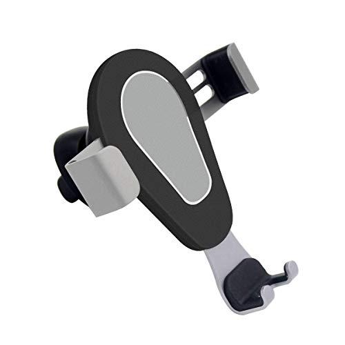 TNEW Soporte Móvil Coche para Rejillas del Aire de,Universal 360° automático Ajustable Gravedad Soporte Teléfono Coche para