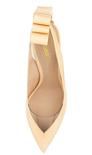 Guoar - Scarpe chiuse Donna Beige (beige)