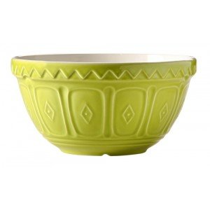 Mason & Cash Traditional 21cm Retro Green Coloured Design Mixing Salad Bowl