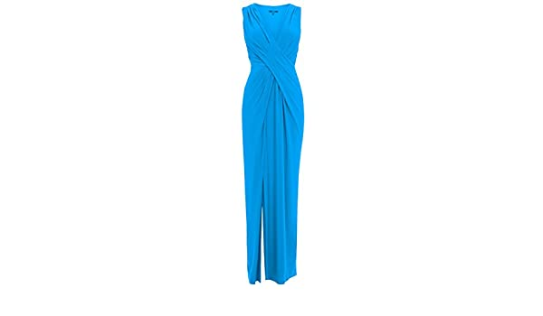 Coast Ex Mona Maxi Dress Turquoise Blue Party Cocktail Ball Prom Formal Evening (16): Amazon.co.uk: Clothing