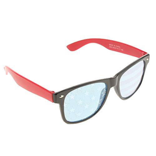 F Fityle Erwachsene Kinder Partybrille Sonnenbrille Nerdbrille Halloween Kostüm Brille...