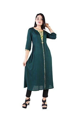 Damen Kurta (Vihaan Impex indische Kleidung indische Tunika Kurta Damen)