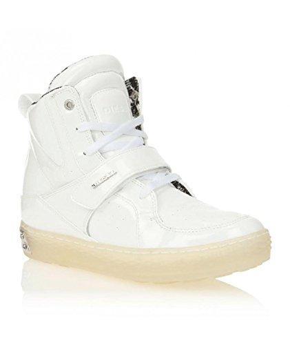 Diesel , Sneaker uomo bianco bianco 38 bianco - bianco