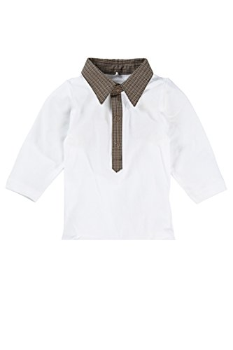 Name It - T-shirt - Bébé (garçon) 0 à 24 mois - - White/Anthracite - Naissance