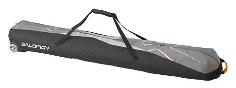 Salomon Bags & boite Wheely 2paires de ski Bag 190 Gris Detroit -