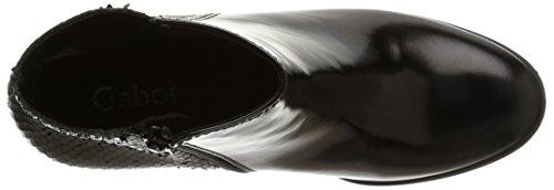 Gabor - 31-672-77, Stivali Donna Nero (Noir (Schwarz))