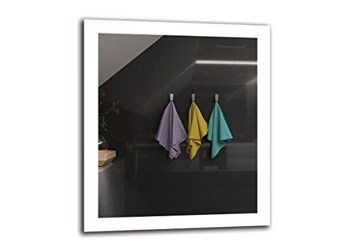 Espejo LED Premium   Dimensiones Espejo 70x80 cm