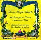 12 Lieder Pour Piano;Arianne A Naxos