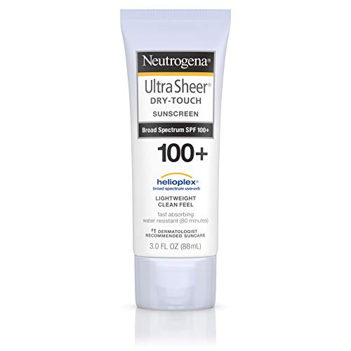 Neutrogena Ultra Sheer Dry-Touch Sunblock, SPF 100 aus den USA (Sunscreen Spray Neutrogena)