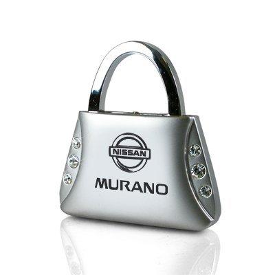 nissan-murano-clear-crystals-purse-shape-key-chain