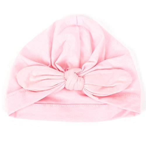 Neugeborene Baby-Ultra Soft Cap Rabbit Ears Verknotete Turban Stirnband Headwrap Kopf Wrap Beanies (Grün) (Kopf Wickelt Für Baby Mädchen)