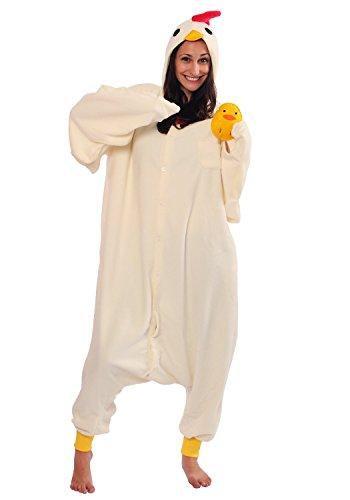 Chicken-Kigurumi-Japanese-Sazac-Cosplay-Costume-Pajamas-japan-import