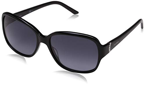 Pierre Cardin Damen P.C. 8398/S HD 807 57 Sonnenbrille, Schwarz (Black/Grey Sf),
