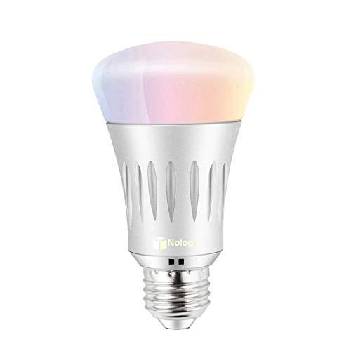 Bombilla WiFi Inteligente E27 Inalambrica LED 7W Luz Nocturna Regulabl
