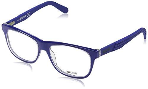 Just Cavalli Herren Brille JC0643 090 53 Brillengestelle, Blau,