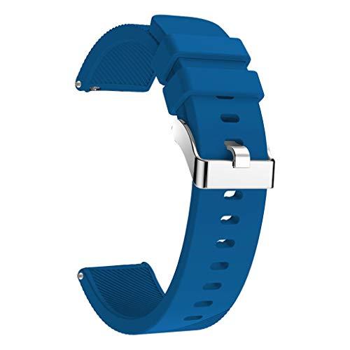 Hard-Working Hamilton Acero Pulsera Brazalete 18mm Con Cierre Desplegable Hermosa Vintage De Relojes Y Joyas Correas