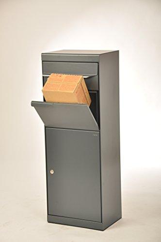 Paketbriefkasten Etna 771 anthrazitgrau mit Montageset