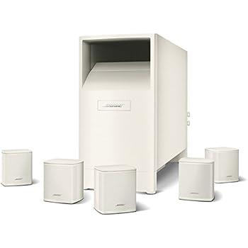 Bose Acoustimass 6 série V Système d'Enceintes Home Cinéma Blanc
