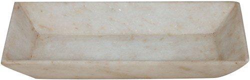 Assiette décorative en marbre L30xPR15xH5 cm