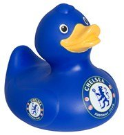 Chelsea Bath Time Duck - Blue - One Size Only
