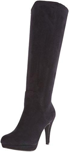 adrienne-vittadini-damen-stiefel-stiefeletten-schwarz-schwarz-grosse-39-1-3