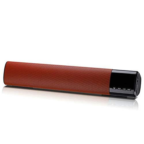 NAttnJf Wireless Bluetooth Sound Bar Heimkino-TV-Subwoofer-Stereo-Audio-Lautsprecher Valentinstag