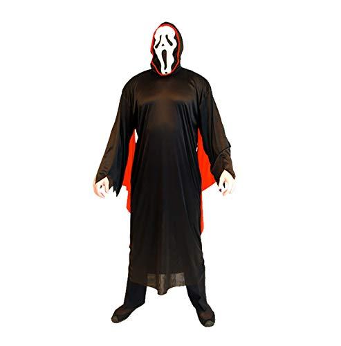 GHDTGS Adult Zombie School Boy Girl Krankenschwester Halloween Kostüm,K (School Boy Kostüm)