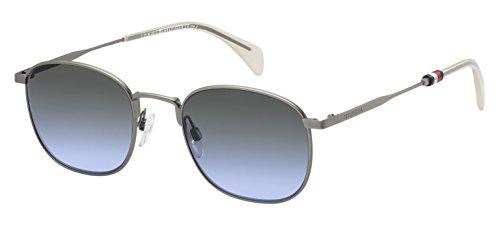 Tommy Hilfiger Unisex-Erwachsene Sonnenbrille TH 1469/S GB, Schwarz (Smtt Dkruthe), 52 Preisvergleich