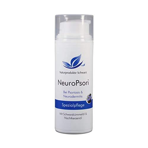 Naturprodukte Schwarz - NeuroPsori Spezialpflege Creme bei Schuppenflechte/Psoriasis und Neurodermitis