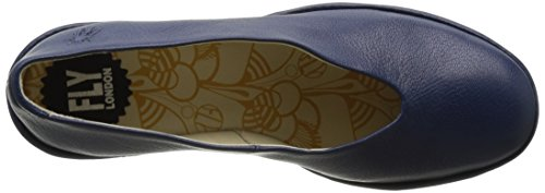 Fly London P500025203, Scarpe con Zeppa Donna Blu (blue 202)